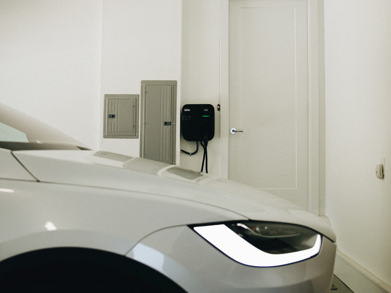 Blink IQ 200 Level 2 AC EV Charging Stations | Blink Charging - EV Charging Stations