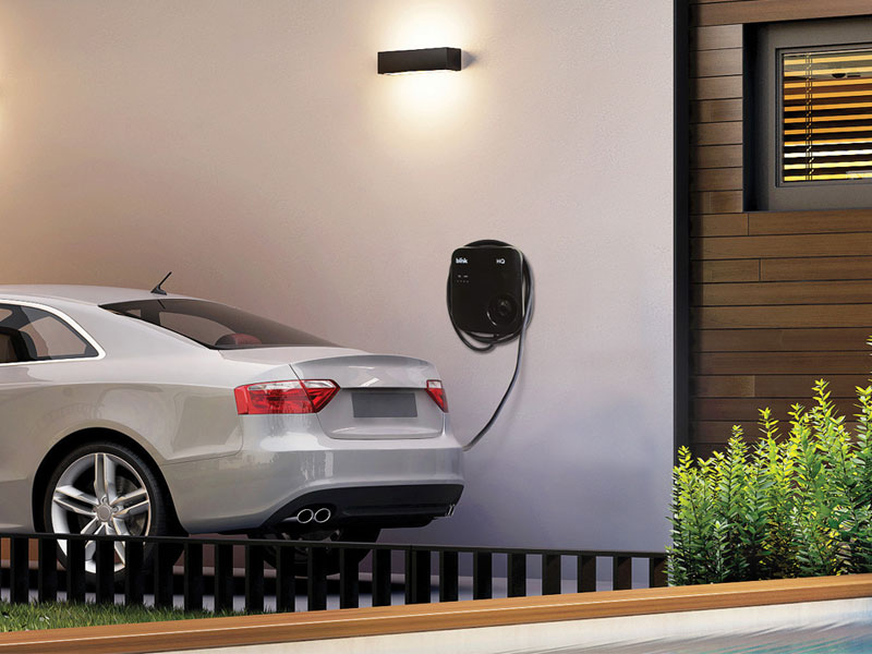 Blink Charging EV Charging Station at Residential Homes