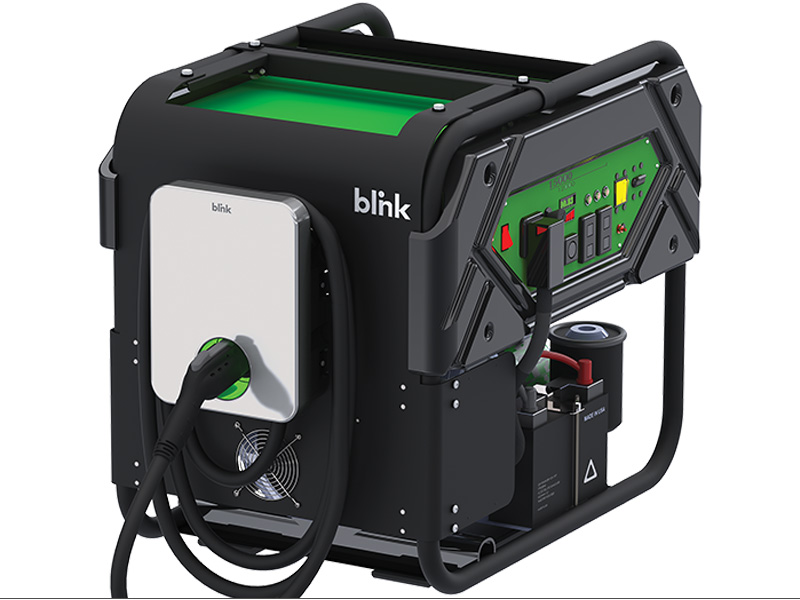 Blink EV Mobile Charging Station Level 2 | Blink Charging - EV Charging Stations