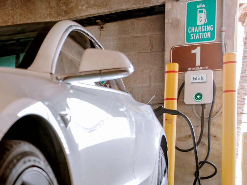 Parking Operators Embrace EVs as Both Sustainable and Profitable