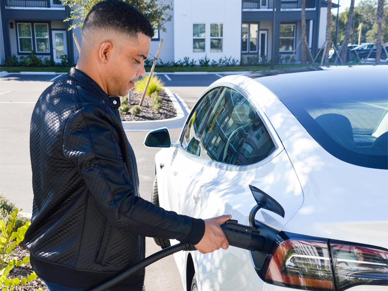 Can Teslas Charge on a Regular Level 2 Charger? A DCFC? It's All About the Adapter