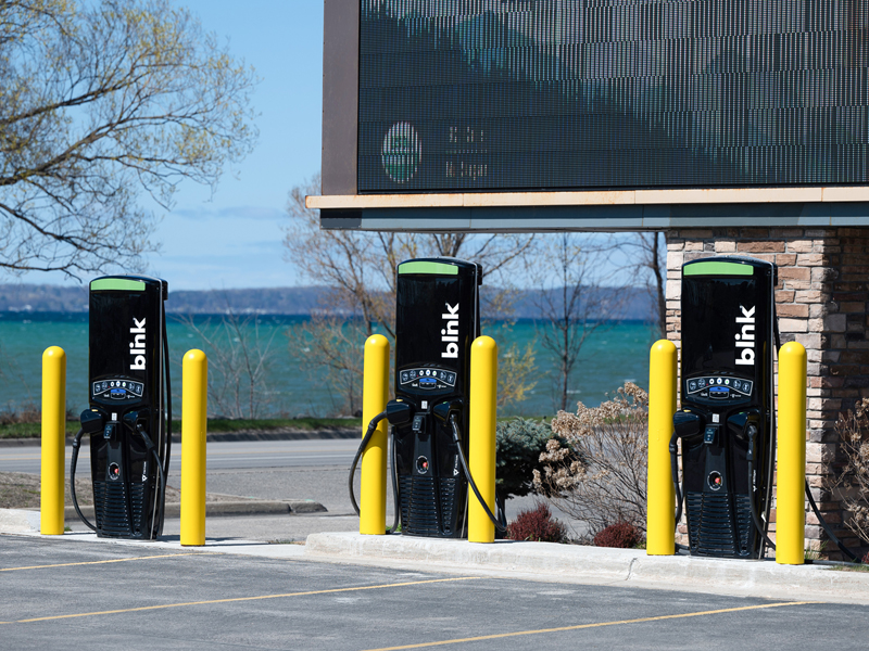 Truck Stops and Travel Plazas: Bringing EV Chargers to Travelers